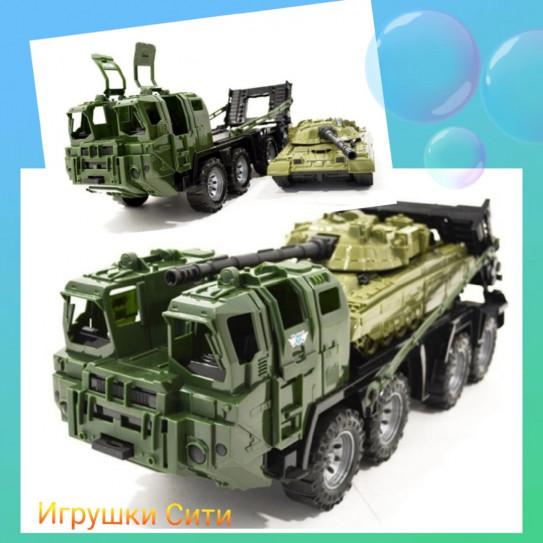 Нордпласт 258 Военный тягач Щит с танком