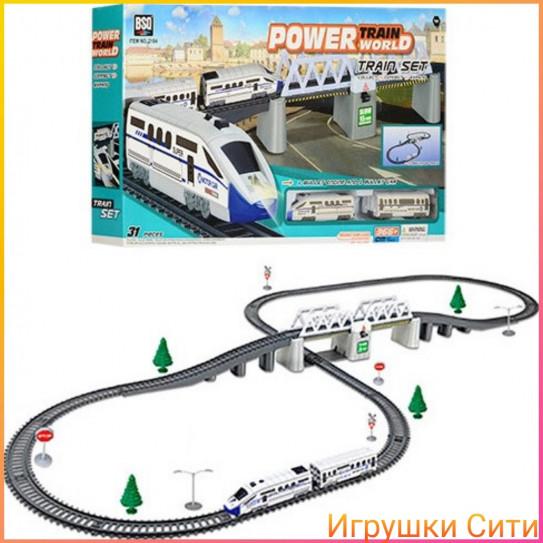 "Железная дорога ""Power Train World"" на батарейках"