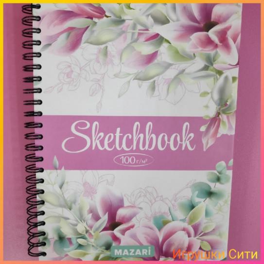 Mazari Скетчбук (блокнот) А5 - 60 листов