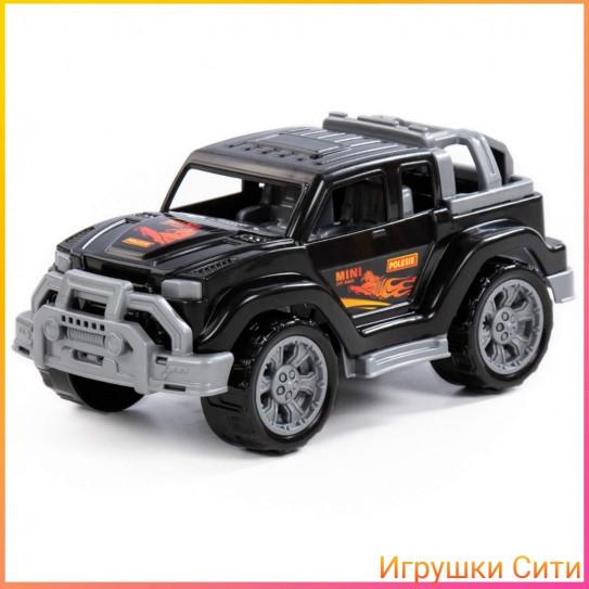 Легионер-мини, автомобиль чёрный Полесье