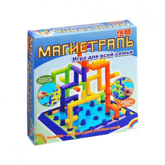 Bondibon  Настольная 3D-игра 1318 Магистраль ВВ0968