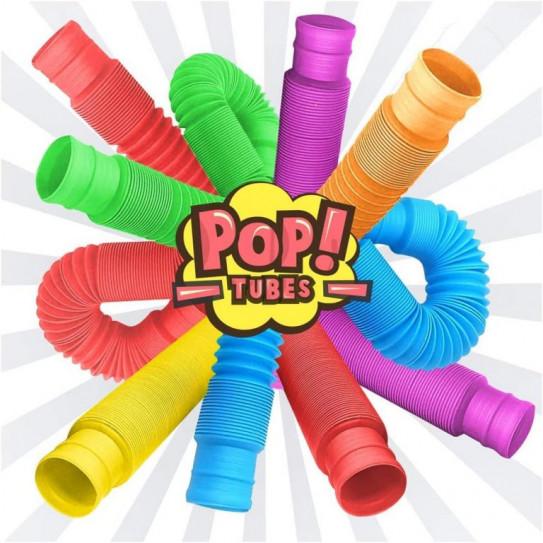 Тактильная сенсорная игрушка POP TUBES 22см 6910098
