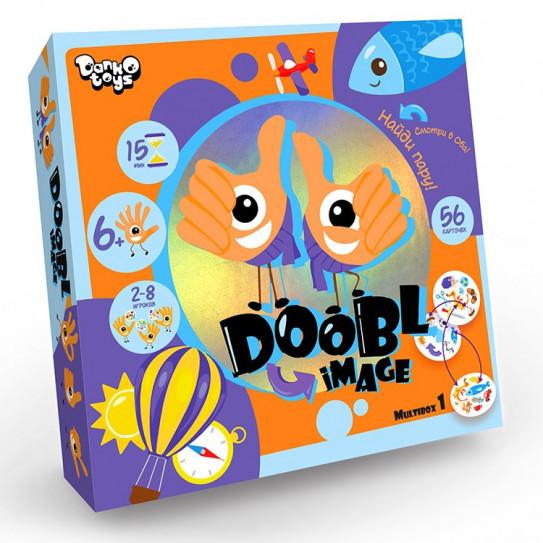 Детская настольная игра «Двойная картинка» серии «Doobl Image»,
