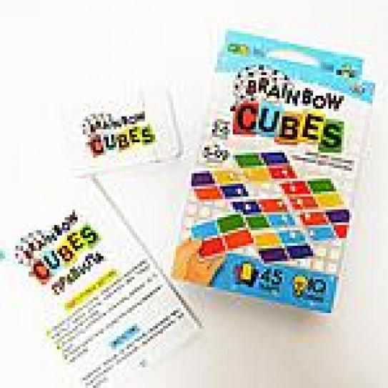 Настольная игра викторина серии «Brainbow Cubes»,