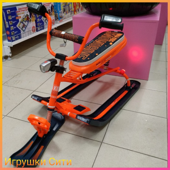Nika Снегокат Snowdrive Neon Orange