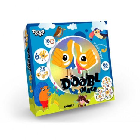 """Детская настольная игра """"Двойная картинка"""" серии """"Doobl Image"""""""