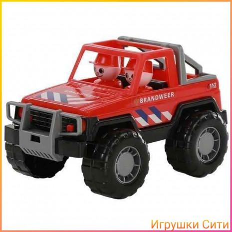Машина Джип, пожарный сафари Полесье